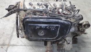 Peças Honda Civic 1.4 de 1991 (Carro Desmantelado)